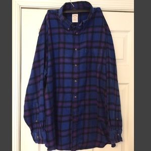 Men's Brooks Brothers 346 Flannel Shirt